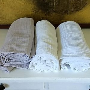 ADEN aden + anais Set of 3 cotton swaddle blankets
